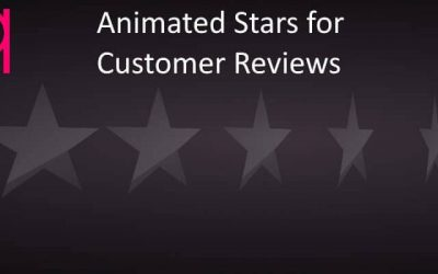 Divi – Animated Stars for Customer Reviews